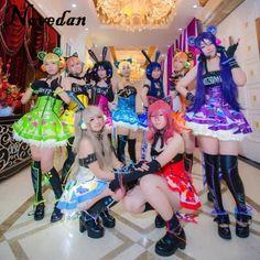 Lovelive Maki Nishikino Minami Kotori Led Fairy Idolized Maid Uniform Awaken Love Live Cyber Halloween Cosplay Costume For Women #Affiliate
