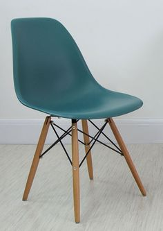 Teal Eames Style Dining Chair from Danetti.