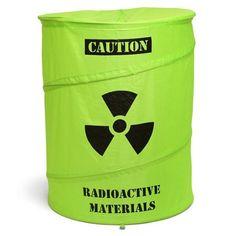 Toxic Waste Drum Wäschekorb