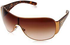 Prada Womens Designer Sunglasses BronzeCopperBrown Gradient 32120 >>> Visit the image link more details. (Note:Amazon affiliate link)