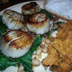SCALLOPS (ostiones o vieiras) on Pinterest | Scallops, Seared scallops ...