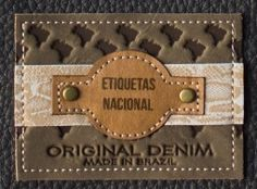 Etiquetas Nacional Garra, Fashion Tag, Clothing Labels, Brand Packaging, Hang Tags, Badges, Metal, Shopping Bag, Patches