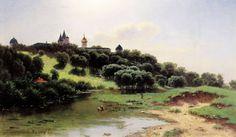 Savvino-Storozhevsky Monastery near Zvenigorod - Lev Kamenev (1860s)