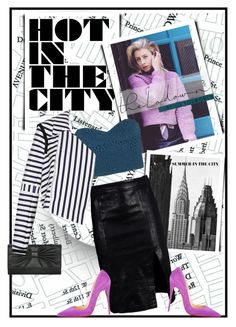 24 Hours in NYC With Lo Bosworth by anne-symanski-goranson on Polyvore featuring polyvore, fashion, style, TIBI, Tanya Taylor, Frame Denim, Christian Louboutin, M&Co, 90s, summerstyle, contestentry, trendreport and thelodown