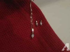 Diamond Earing & Necklace Set - $1000 (North Muskegon)