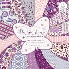 """Premium Paper Pad 12"""" x 12"""" 48 Sheets - Dreamcatcher"""