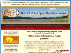 Hotel Olsztyn Noclegi Restauracja SAK