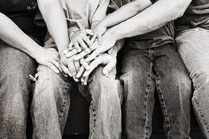 big family togetherness