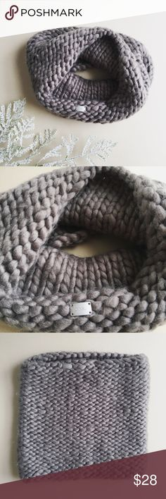 UO | Coal - Infinity Scarf UO | Coal - Infinity Scarf ⚡︎ DETAILS:  ⌁ BRAND: coal ⌁ FEATURES: knitted infinity scarf by coal; thick + warm  ⌁ SIZE: one size ⌁ COLOR: dark grayish silver ⌁ CONDITION: good ⌁ CONTENT: ✘     ⌁ CARE:  machine wash cold ✘ no trades, no PayPal ✘ Urban Outfitters Accessories Scarves & Wraps