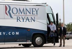 mitt romney's military service record   Mitt Romney - Mitt Romney Campaigns In Florida And Virginia