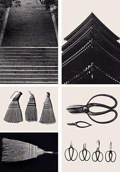 "onsomething:  onsomething  Iwamiya Takeji | katachi. Via 1 ""Paper. Wood. Bamboo. Fiber. Clay. Metal. Stone. These images ""showcase objects that represent - katachi ( the wordmeans ""sense of form"" ) the form, symmetry, and workmanship of classic Japanese design."" Via 2"