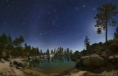 """""""Lake Tahoe Moonlight"""" by Wally Pacholka (TWAN)"""