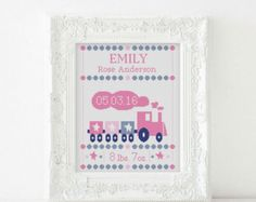BOGO gratis Nascita annuncio gufi cross stitch patern baby
