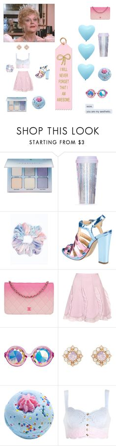 """..That's Not Magic, That's Just Hard Work."" by in-it-not-of-it ❤ liked on Polyvore featuring Anastasia Beverly Hills, Miss Selfridge, Cole Haan, Chanel, Giambattista Valli and Forever New"