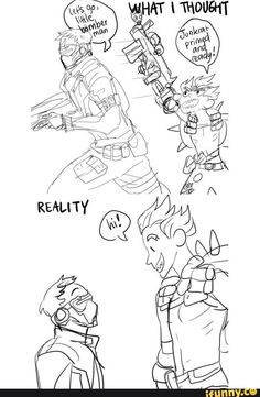 the fact that Junkrat is taller than everyone other than Roadhog really fucks with me man