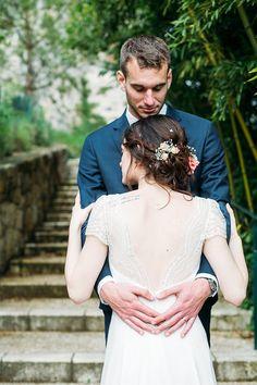Le mariage champêtre d'Aurore et Vivien - Région Aquitaine   Photographe: Studiohuit   Donne-moi ta main - Blog mariage