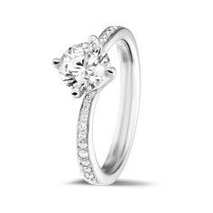 Classics Collection - 1.00 Ct solitaire engagement ringt