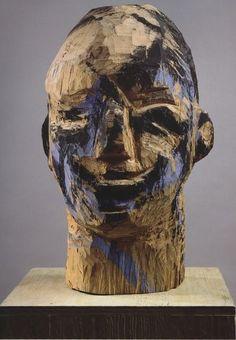 Georg Baselitz, Ohne Titel (1979-1980), via Artsy.net - Studio Cigale fait des Draw my Life : http://studiocigale.fr/un-draw-my-life-pour-twitter/