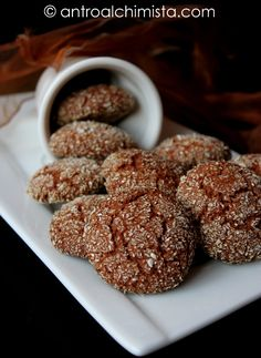 L'Antro dell'Alchimista: Biscotti con Farina di Castagne e Cocco