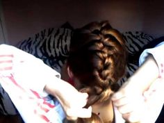 how to french braid your own hair! Best tutorial I have seen!
