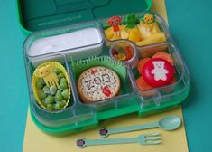 Zoo Themed Yum Box Lunch by Grace from 'Eats Amazing'