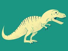 T-Rex Tuesday by James Olstein