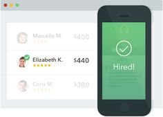 Thumbtack - Accomplish your personal projects Site/app to help you find professionals - much like Angie's List.