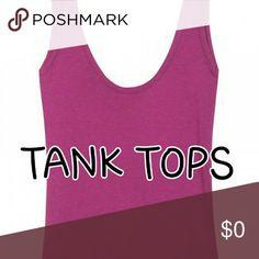 Tank Tops Tank Tops Tops