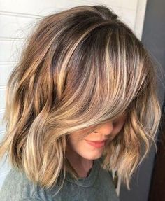layered hair 52 Fashion Summer Inspirational Layered Hairstyles Ideas For Medium Lenth Hair 2019 - Page 11 of 52 - Diaror Diary Brown Blonde Hair, Light Brown Hair, Brunette Hair, Blonde Honey, Hair Color And Cut, Cool Hair Color, Hair Colors, Summer Hairstyles, Cool Hairstyles