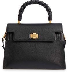 21aa57493 Miu Miu Madras Click Goatskin Leather Satchel Leather Satchel, Leather  Handbags, Tote Handbags,
