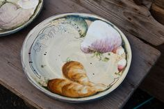 lopes_zablocki_21 Clay Plates, Plates And Bowls, Ceramic Bowls, Ceramic Pottery, Ceramic Artists, China Porcelain, Sculpture, Art Pieces, Dishes