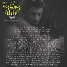 BOOK SPOTLIGHT          Fighting for Keeps: A Paranormal Shifter Romance  by Grace Brennan Author BUY NOW  http://amzn.to/2s7OcD6 #GraceBrennan #Shifter #Paranormal Hosted by Itsy Bitsy Book Bits  They both have their secrets. Theyre both telling lies. And they both have pasts that need reconciling.  In Eagle Creek to take care of her late uncles estate Amelia Anderson is a long way from home. Before he passed her uncle warned her of menspecifically from Rocky Riverwho can change into…