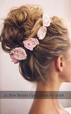 21 New Braids Updo Ideas For 2018