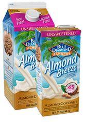 Almond Breeze Unsweetened: Almondmilk Coconutmilk Blend. I drink it every day! Found at: Walmart, Target, Winn Dixie, Publix