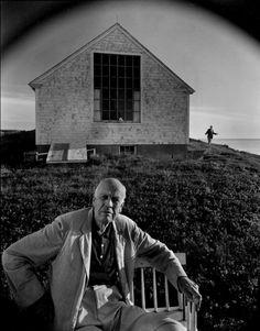 Arnold Newman Edward Hopper. Massachusetts (1960)