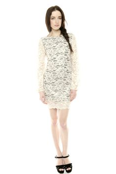 Amazing site with tons of great clothes! Flower Lace Dress