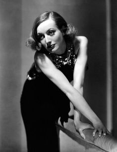 Joan Crawford by George Hurrell for Sadie McKee, 1934