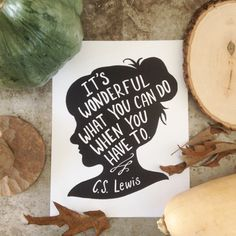Love this quote and this print!