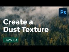Photoshop Course, Photoshop Tips, Photoshop Tutorial, Overlays, How To Apply, Texture, Create, Youtube, Surface Finish