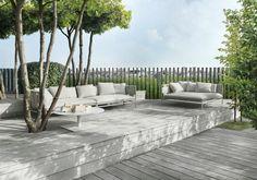 Canapé de jardin Canvas par Paola Lenti