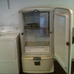 1935 vintage gm frigidaire refrigerator ebay refrigerators pinterest. Black Bedroom Furniture Sets. Home Design Ideas