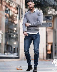 34 Trendy Freizeitschuhe für Herren Style 2019 - Men's Fashion Ideas - Still New Mens Fashion Trends, Mens Fashion Suits, Fashion Ideas, Fashion Styles, Fall Fashion, Style Fashion, Nike Fashion, Fashion Black, Mens Smart Casual Fashion