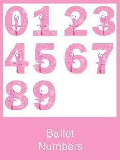 Ballet Numbers - FREE PDF Download