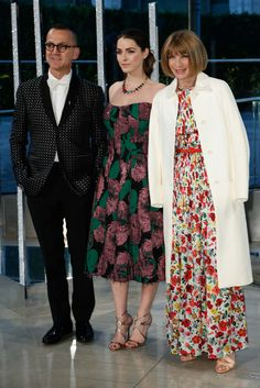 Steven Kolb, Bee Shaffer, and Anna Wintour