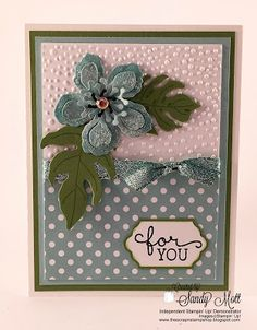 Botanical Blooms - Created by Sandy Mott - The Scrap n' Stamp Shop