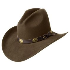 Bailey Western Tombstone 2X Hat Black or Pecan Item W0602G 6978ef095