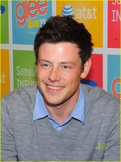 Cory Monteith!  Can you tell I like glee?  I love how he's a little goofy ;P