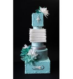 We made this cake with my friend Aneta Koleva - http://cakesdecor.com/anideya by Antonia Lazarova