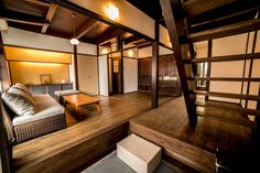 Airbnb: Traditional Japanese house in Kyoto Traditional Japanese House, Townhouse For Rent, Elle Decor, Beautiful Homes, Travel Destinations, Luxury, Architecture, Building, Kyoto Japan
