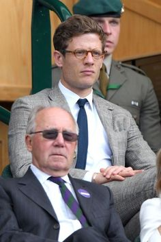 It's not just about what's happening on court at Wimbledon 2016.  Here are the best-dressed men in the stands including Sam Smith, Dominic Cooper, Will Poulter and James Norton...